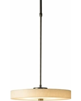 "Disq 15""W Burnished Steel LED Pendant Light"