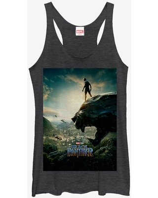 Marvel Black Panther 2018 Epic View Girls Tanks