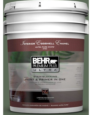 BEHR ULTRA 5 gal. #PPU11-01 Royal Orchard Eggshell Enamel Interior Paint and Primer in One