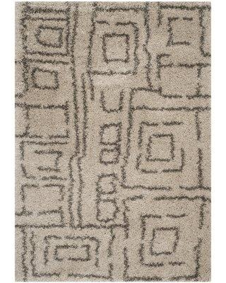 "Zipcode Design Starr Hill Taupe/Gray Area Rug ZPCD3675 Rug Size: Rectangle 5'1"" x 7'6"""