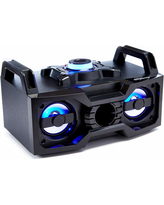 Bluetooth® Color-Changing LED Boombox