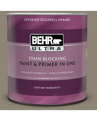 BEHR ULTRA 1 qt. #ECC-14-2 Great Frontier Eggshell Enamel Interior Paint and Primer in One