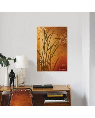 """East Urban Home 'Autumn Sunset II' Graphic Art Print on Wrapped Canvas ERNI7693 Size: 26"""" H x 18"""" W x 1.5"""" D"""