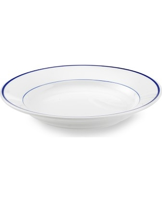 Apilco Tradition Blue-Banded Soup Plates Set of 4  sc 1 st  MyWedding.com & Get The Deal! 20% Off Apilco Tradition Blue-Banded Soup Plates Set of 4