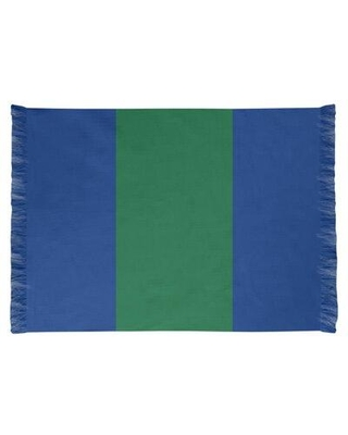 East Urban Home Seattle Throwback Football Blue Area Rug FCJK0444 Backing: Yes