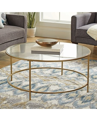 Sales For Better Homes & Gardens Nola Coffee Table, Gold Finish