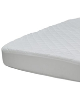 Beautyrest Black Luxury Fitted Crib Mattress Pad Cover, Quick Ship