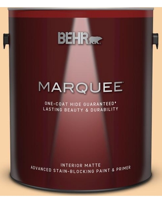 BEHR MARQUEE 1 gal. #P220-3 Tropical Fruit Matte Interior Paint and Primer in One