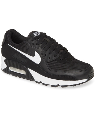 Amazing Sales on Women's Nike Air Max 90 Sneaker, Size 6.5 M - Black