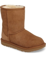 Toddler Ugg Classic Ii Water Resistant Genuine Shearling Boot, Size 3 M - Brown