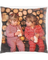 The Holiday Aisle Aledo Christmas Kids Indoor/Outdoor Canvas Throw Pillow W001006646