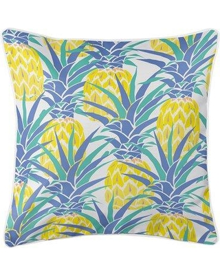 Check Out Deals On Bay Isle Home Kobbe Pineapple Throw Pillow Polyester Polyfill Polyester Polyester Blend In Yellow Gold Size 20x20 Wayfair