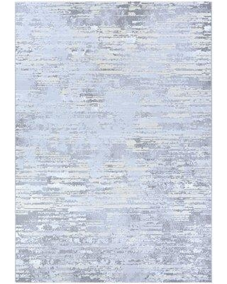 Williston Forge Driggers Light Gray/Champagne Area Rug BI016451 Rug Size: Rectangle 2' x 3'11""