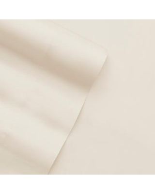 Home Collection Premium Bamboo 4-Piece Luxury Bed Sheet Set, White, FULL SET