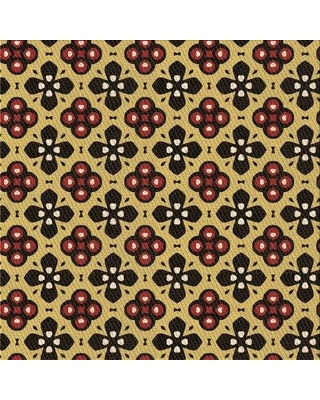 East Urban Home Ono Floral Wool Brown Area Rug W002568635 Rug Size: Square 3'
