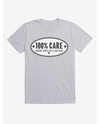 Care Bears Grayscale 100% Care T-Shirt