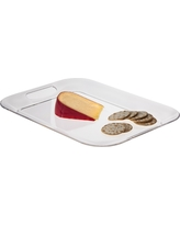 Acrylic Handled Serve Tray - Clear (Small) - Room Essentials