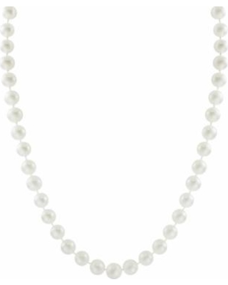 """""""10k Gold Freshwater Cultured Pearl Necklace - 30'', Women's, Size: 30"""", White"""""""