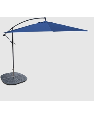 bdeb8b5b4f World Market Royal Blue Cantilever Outdoor Patio Umbrella Collection by  World Market from Cost Plus World Market | People