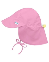 i play. by green sprouts Baby Girls' Sun Hat, Light Pink, 0-6 Months