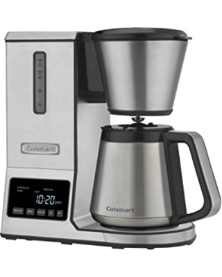 Cuisinart CPO-850 Pour Over Coffee Brewer Thermal Carafe, Stainless Steel