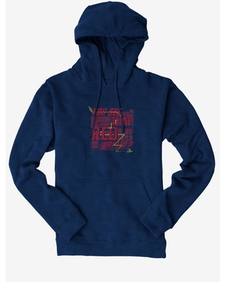 DC Comics The Flash You See That Red Blur Maze? Hoodie