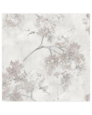 Spectacular Sales For Roommates Weeping Cherry Tree Blossom Peel Stick Wallpaper In Purple In Beige