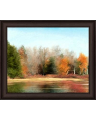PTM Images Landscape Reflections II Framed Painting Print 6-5671B