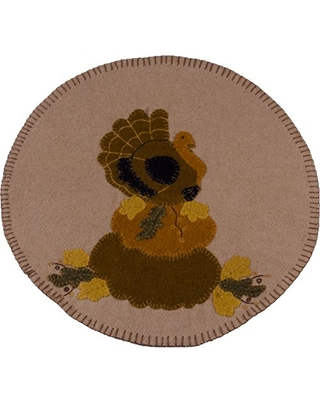 """Home Collections by Raghu 14""""x36"""" Turkey Nutmeg Table Runner"""