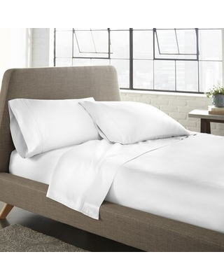 Montilly 600 Thread Count Tencel Sheet Set Wrought Studio™ Size: California King, Color: White