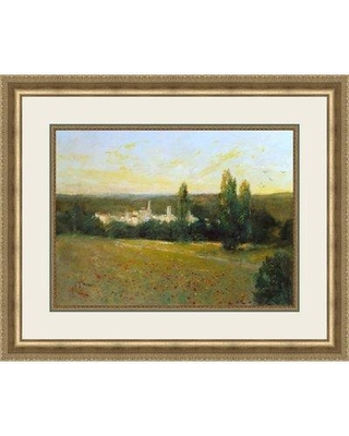 Ashton Wall Décor LLC 'Afternoon in the Country II' Framed Painting Print 2242