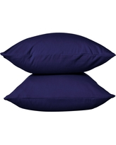 Jersey Pillowcase - (Standard) Solid Navy - Room Essentials