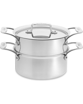 All-Clad d5 Stainless-Steel Steamer Set, 3-Qt.