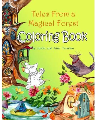 Tales From a Magical Forest Coloring Book