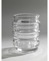 Serax Ribbed Cylinder Blear Glass Table Vase B2811054