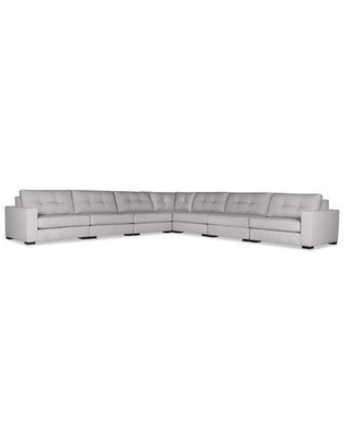 Brayden Studio Brose Modular Sectional BRSU1108 Upholstery Color: Gray