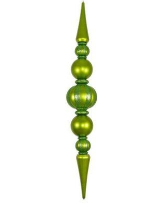 Queens of Christmas Giant Finial Ornament WL-ORN-100 Color: Lime Green