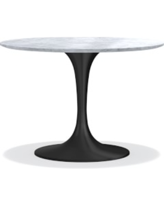 Amazing Deal On Tulip Pedestal 42 Round Dining Table Aged Bronze