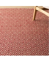 Langley Street Kenzo Hand-Woven Pink/Beige Area Rug LGLY2384 Rug Size: Rectangle 4' x 6'