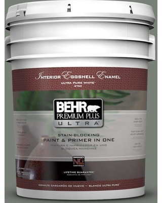 Behr Ultra Behr Ultra 5 Gal Home Decorators Collection Hdc Ac 22 Cedar Forest Eggshell Enamel Interior Paint Primer From Home Depot Real Simple