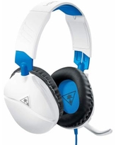 Turtle Beach Recon 70 Wi Stereo Gaming Headset for PlayStation 4, White