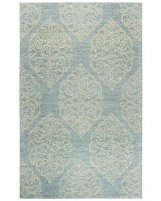 """Three Posts™ Teen Nordmeyer Hand-Tufted Blue Area Rug X112772523 Rug Size: Rectangle 2'6"""" x 8'"""
