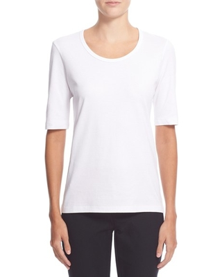 bdcf30bb29dba Check Out These Major Bargains  Women s Theory Pima Cotton Top