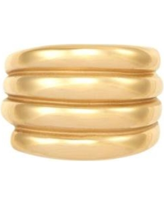 Belk & Co. Yellow Gold 4 Row Band Ring in 10k Yellow Gold