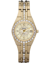 Relic By Fossil Womens Gold Tone Bracelet Watch - Zr11778, One Size