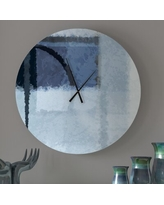 Amazing Deal On Gelsomina Wall Clock Ebern Designs Size Small