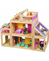 Maxim Designed by You Dollhouse. Furnished Wooden Modular Doll House, Furniture & Doll People