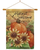 Shop Deals For Custom Decor Sunflower Cotton 2 Sided Polyester 40 X 28 In House Flag In Brown Size Medium 13 30 Wide Wayfair 3847fl