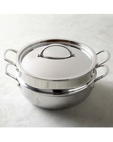 Williams Sonoma Stainless Steel Steam & Braise Oven, 6 1/2-Qt.