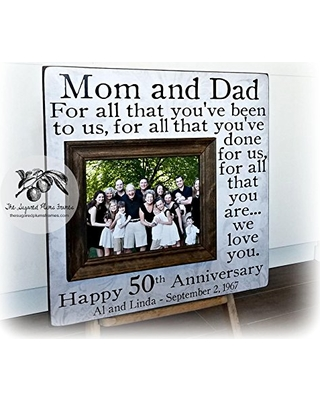 Cant Miss Bargains On Then And Now Picture Frame 50th Anniversary